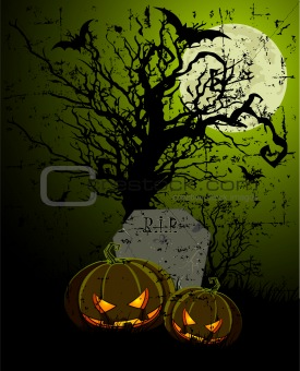 Tombstone and Pumpkins
