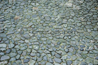 Ancient street background