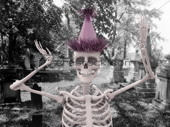 party skeleton