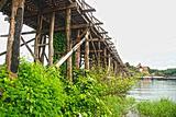 Mon bridge in Sangkhlaburi HDR