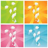colorful candies backgrounds