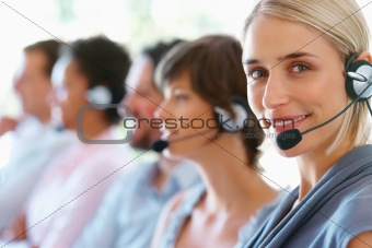 Call center executives