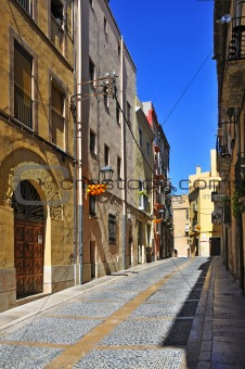 old town of Tarragona, Spain