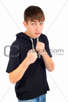teenager boxer
