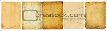 old paper set