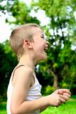 laughing kid