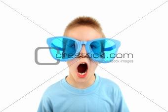 boy in big glasses