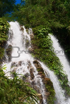 Waterfall in Northern Colombia