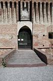 Roccabianca Castle. Emilia-Romagna. Italy.