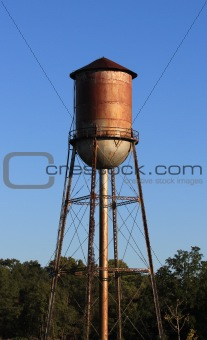 Old Rusty Water Tower
