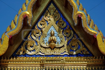 Thailand's Temple's Roof Detail
