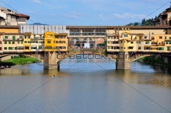 Vecchio Bridge, Florence , Italy