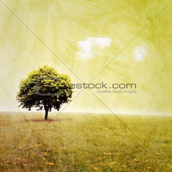Grunge Landscape