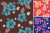 seamless flower fabric textile design
