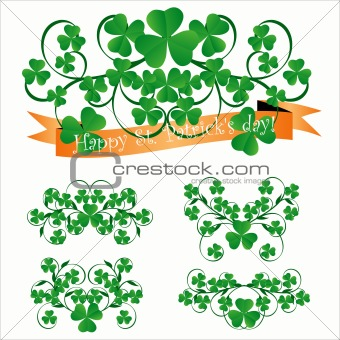 St. Patrick's day ornaments