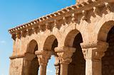 Romanesque arcade