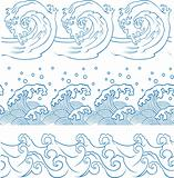 repeated ocean wave pattern