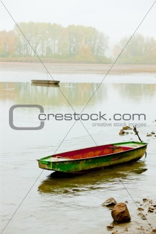 autumnal pond, Czech Republic