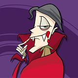 cartoon vampire