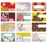 cute business card collection
