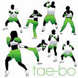 Tae-bo Silhouettes Set