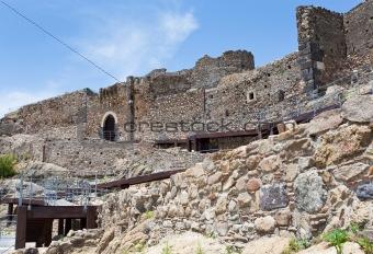 Arab-Byzantine ancient castle