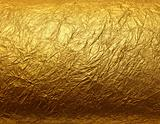 Leaf gold foil texture