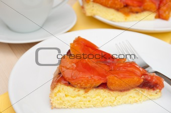 Cake With Apricots