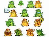 Eco-monsters set