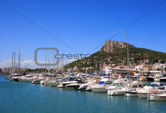 Estartit port (Costa Brava, Spain)