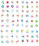 72 colorful vector icons: (set 1)