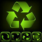 Recycle Logo (Vector Image)