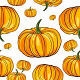 thanksgiving pumpkin pattern