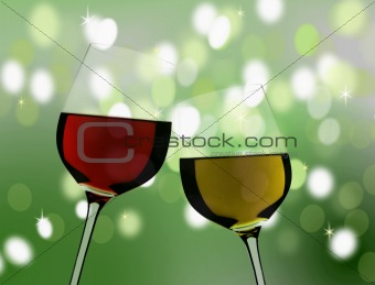 celebration glasses