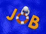Looking for job in the sea of unemployment