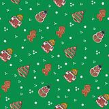 gingerbread Christmas texture