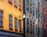 Ancient buildings in Stockholm