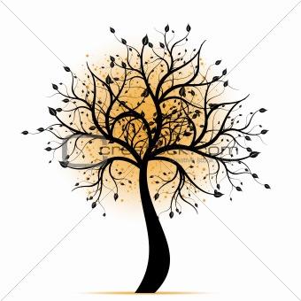 Beautiful art tree