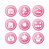 pink halloween signs