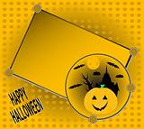 Halloween invitation for your party greetings card vector