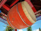 Large Temple Drum