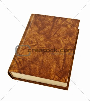 Blank hardcover book