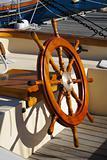 Sailboat steering wheel