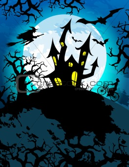 Haunted Halloween Theme