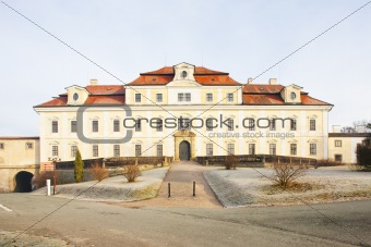 castle in Rychnov nad Kneznou, Czech Republic