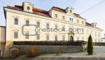 castle in Rychnov nad Kneznou, Czech Republic