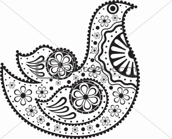 Decorative bird