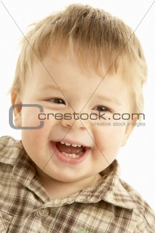 Portraigt Of Laughing Toddler