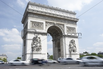 Arc de Triomphe,Paris,France