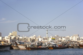 View Of Buildings From Dubai Creek